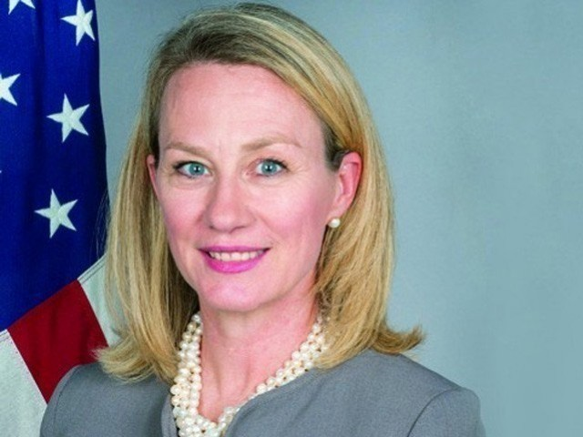 US Principal Deputy Assistant Secretary for South and Central Asian Affairs Alice Wells. PHOTO: FILE PHOTO