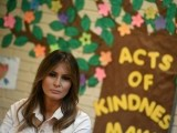 US First Lady Melania Trump said she wanted to see for herself what efforts are being made to resolve the family separation crisis on the US border. PHOTO: AFP