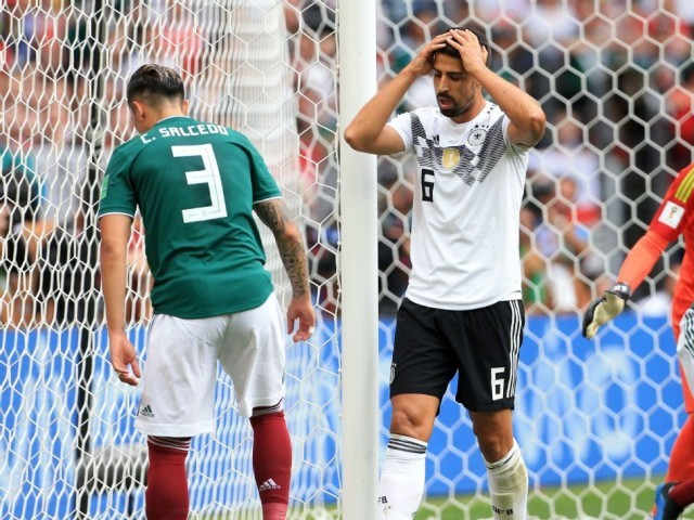 Germany have no room for error, says Khedira