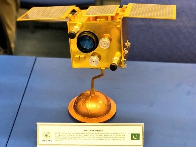 PakTES-1A is fully indigenous project of scientists and engineers of SUPARCO. PHOTO: PAKISTAN FO