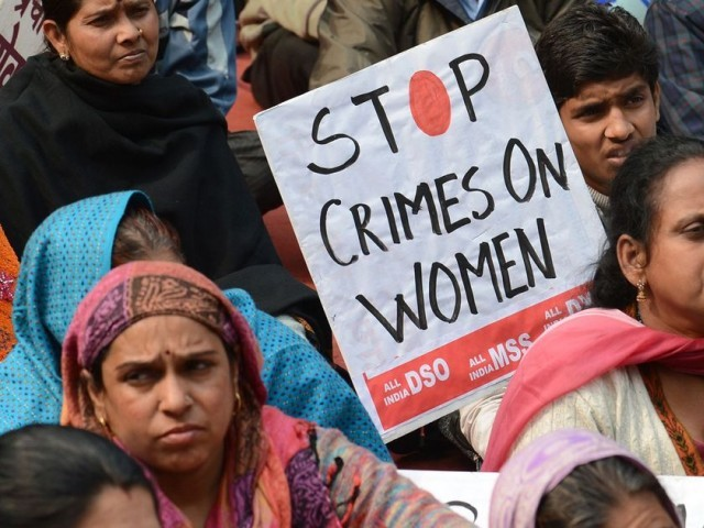 Sexual violence in India. PHOTO: AFP