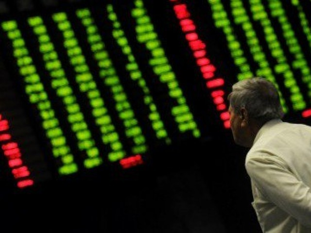 Benchmark index gains 1.41% to finish trading at 41,717.99. PHOTO: FILE