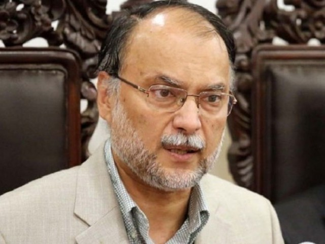 Ahsan Iqbal. PHOTO: EXPRESS
