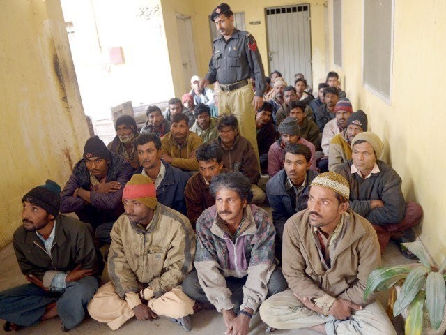 The fishermen were handed to Indian Border Security Force by Pakistan Rangers Punjab. PHOTO: AFP/FILE