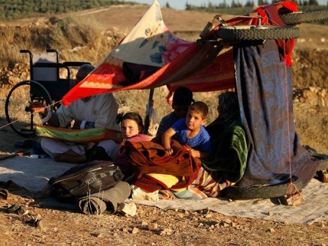 Syria: United Nations says number of displaced in south-west has reached 270,000