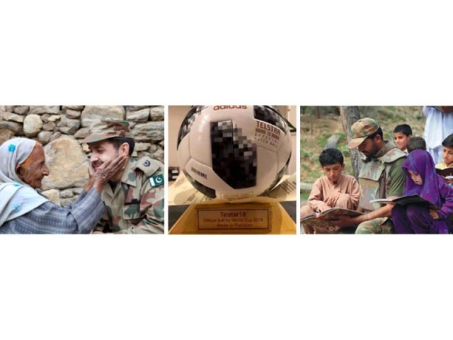 Some 4,433 pictures were posted for the competition, depicting positive use of social media and patriotism. PHOTO: ISPR