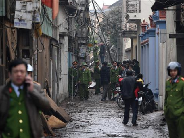 Vietnam makes arrests for bombing of police station. PHOTO: AFP.