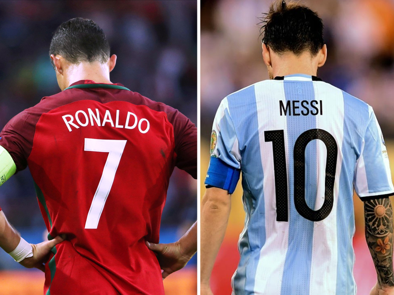 new arrival a928d e27c1 Messi, Ronaldo GOATs even without World Cup | The Express ...