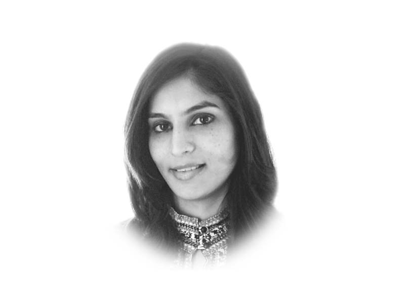 The writer is the co-founder of Women's Advancement Hub and tweets @AishaFSarwari