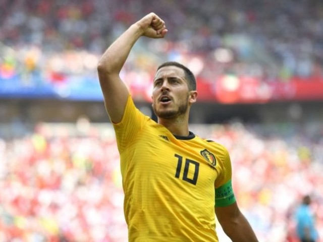 Hazard to go up against adopted France of his hero Zidane