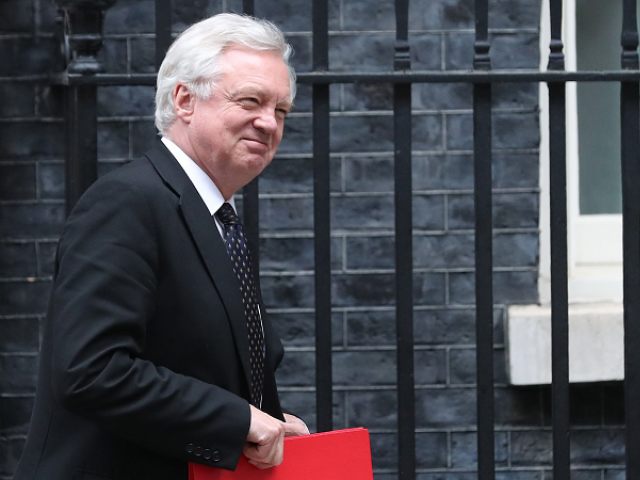 Britain's Brexit minister David Davis steps down