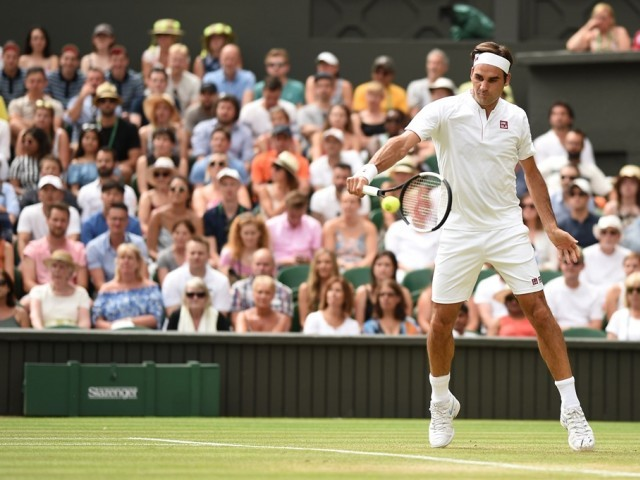 Roger Federer sent message by Kevin Anderson after shock Wimbledon win