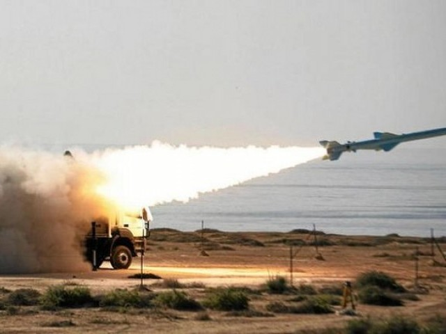 Saudi forces said that they have destroyed a ballistic missile fired from Yemen by Houthi rebels. PHOTO: AFP/ FILE