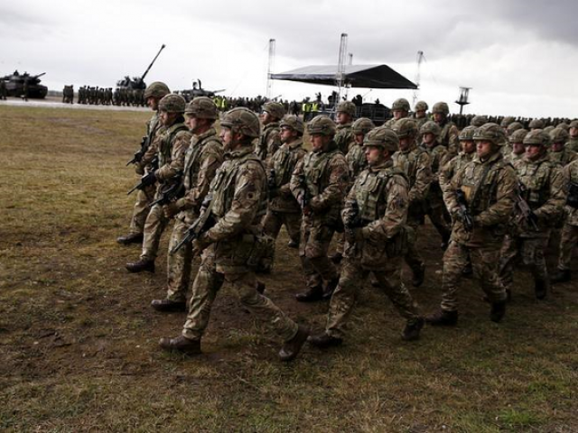 The extra troops will be from the Welsh Guards regiment, with around half deploying in August and a second contingent to follow in February.  PHOTO:REUTERS