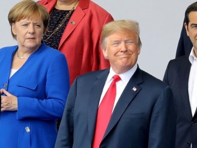 Trump rattles North Atlantic Treaty Organisation, knocking its value and assailing Germany