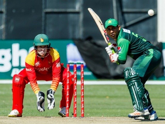 Zimbabwe vs Pakistan 1st ODI at Queens Sports Club