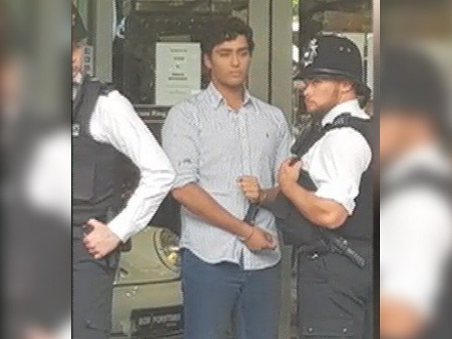 Junaid has come forward and said that they spat at him and then proceeded to attack him. PHOTO: EXPRESS