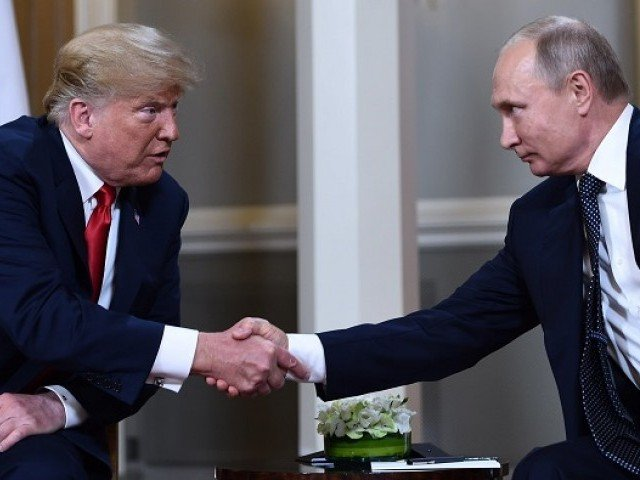 Trump, Putin start first bilateral meeting in Helsinki