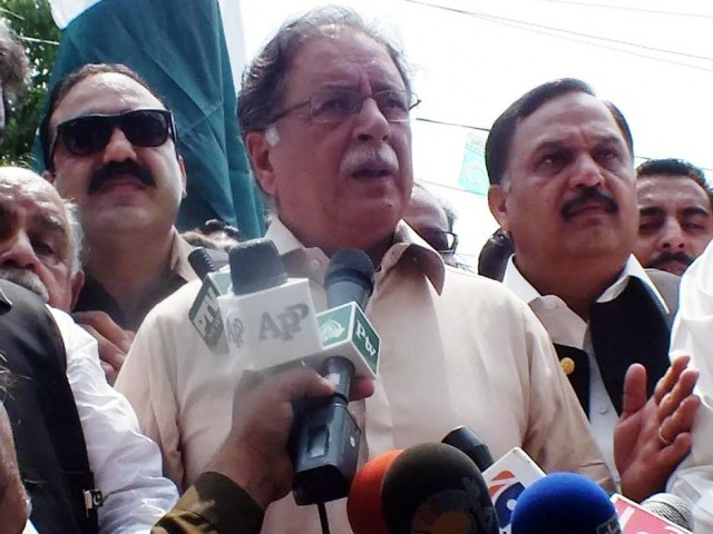 Federal Minister for Information and Broadcasting Pervaiz Rasheed. PHOTO: INP