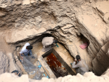 archaeologists-unearth-coffin-containing-three-mummies-with-sewage-water-and-bones-inside-in-alexandria-egypt