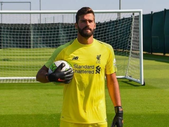 Alisson signs on with Liverpool