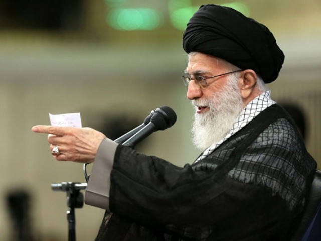 Iran supreme leader says 'obvious mistake' to negotiate with U.S. : website