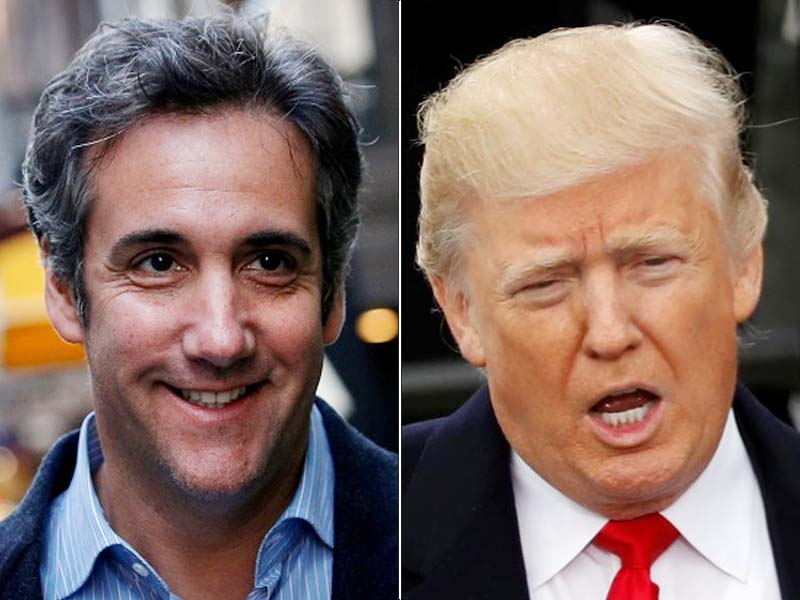 Trump tweets reaction to news of Michael Cohen secret recording