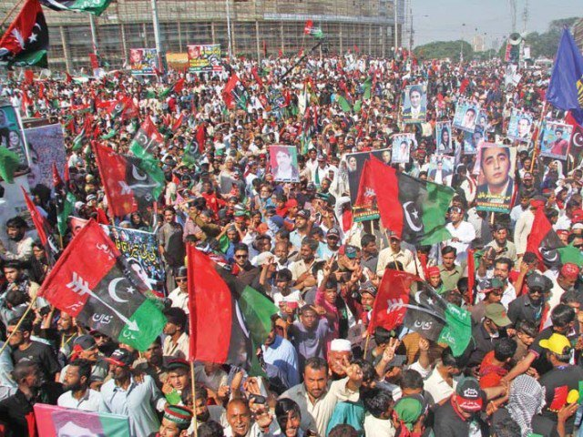 PPP asks for safe votes in Larkana. PHOTO: EXPRESS