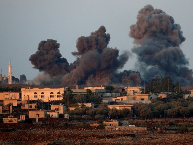 Tensions rise as Israel shoots down Syrian jet near Golan Heights