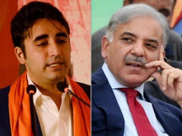 PPP, PML-N leaders say election results are being 'manipulated behind closed doors'. FILE PHOTOS