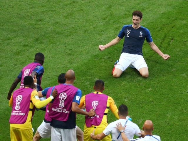 France's Benjamin Pavard wins FIFA World Cup goal of the tournament