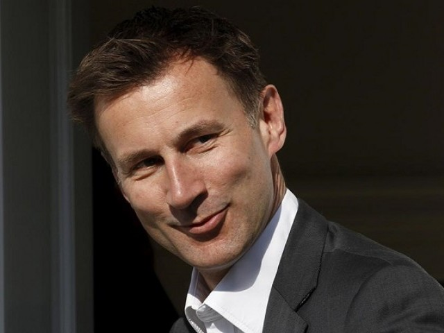 Jeremy Hunt accidentally describes his Chinese wife as Japanese in Beijing