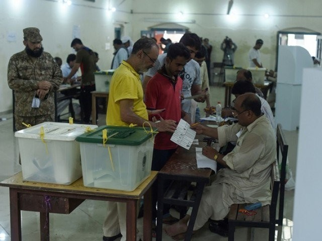 With elections due in the next few months, the ECP had to conduct delimitations in haste. Dozens of cases related to delimitations were pending in the higher courts when schedule for July 25 general elections was announced.  PHOTO:FILE