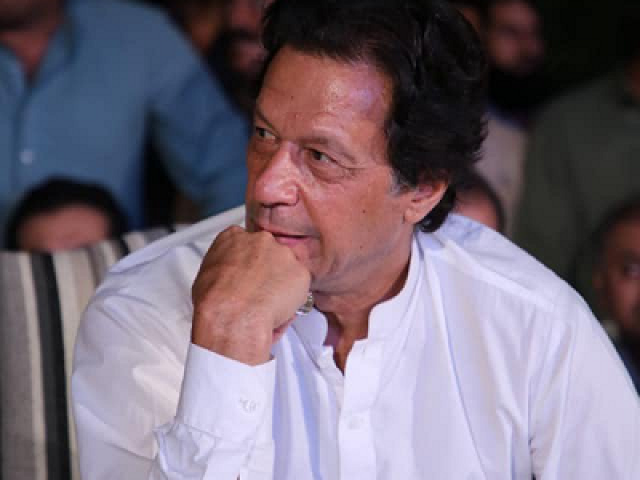 The next Prime Minister, Imran Khan. PHOTO: FILE
