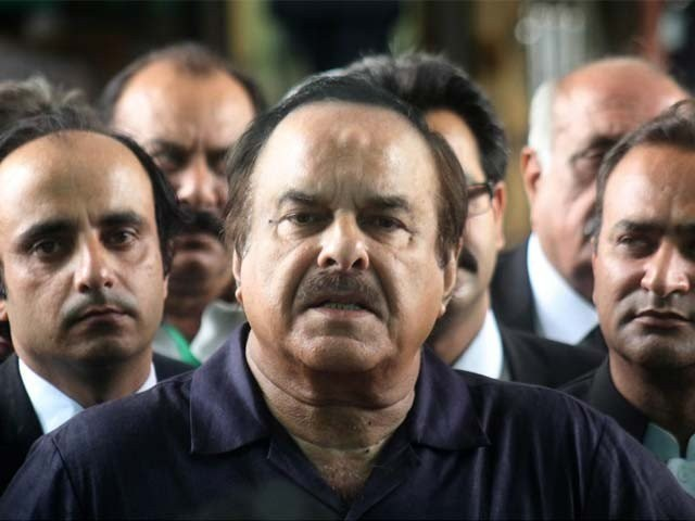 PTI leader Naeemul Haq. PHOTO: EXPRESS/FILE