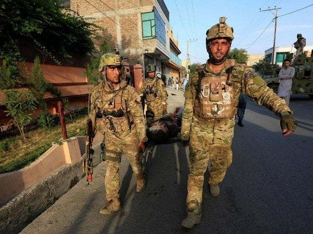 At least 15 killed as gunmen storm Afghan government building