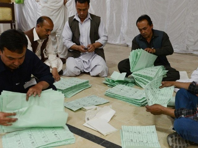 ECP rejects applications for recounting in 37 national and provincial constituencies. PHOTO: EXPRESS