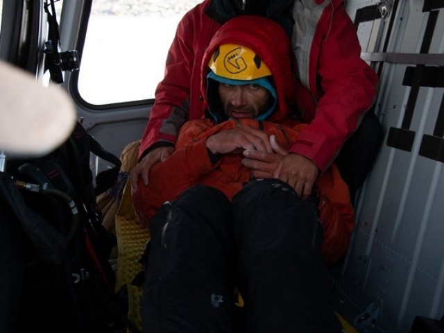 Army rescues Russian mountaineer from Latok peak