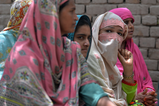 Men banned women from voting in the village of Mohri Pur sometime around 1947, and they have obeyed ever since.  PHOTO:AFP