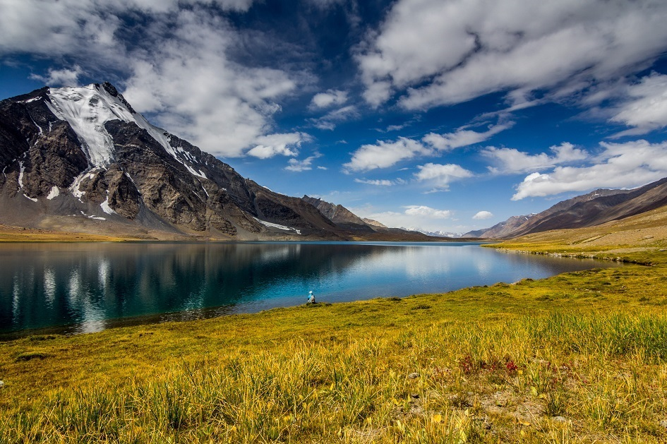Karambar Lake by Sher Ali Saafi