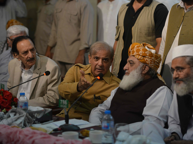 The move is in line with the central conference decision taken last week in Islamabad. The participants of the APC agreed to continue demonstrations till further consultation.  PHOTO:FILE