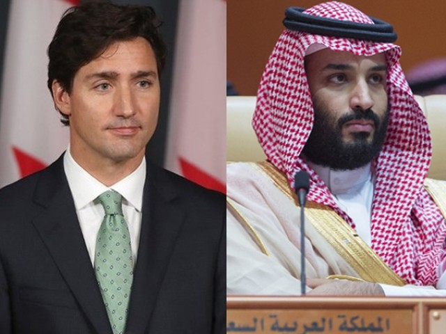 Saudi Arabia selling off Canadian assets