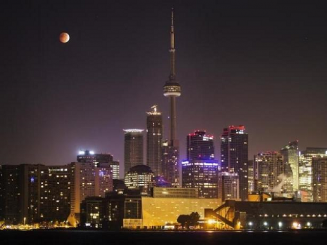 Toronto's CN Tower and the skyline.  PHOTO:REUTERS