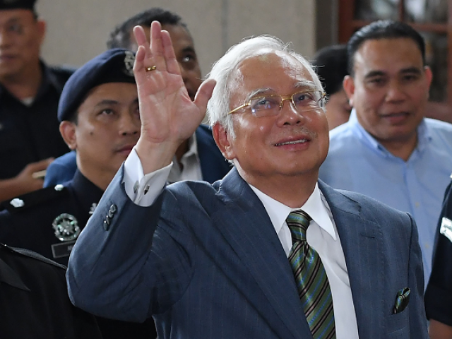 Ex-Malaysian PM granted bail on money-laundering charges