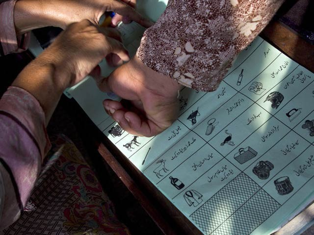 The returning officer said that two presiding officers claimed that they did not give in the results themselves and were forced to submit the results compiled by their abductors. PHOTO: EXPRESS/FILE