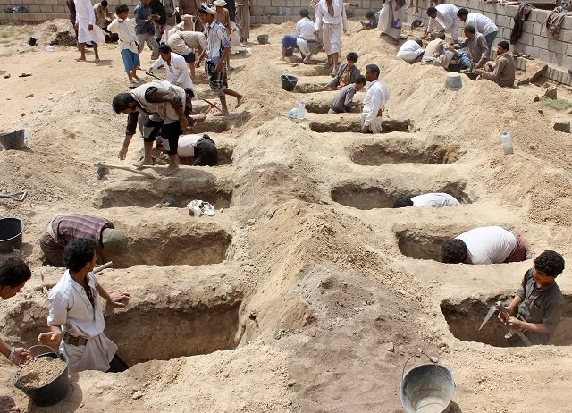 Yemenis Mourn Children Killed at Saudi Coalition Airstrike (+Video, Photos)