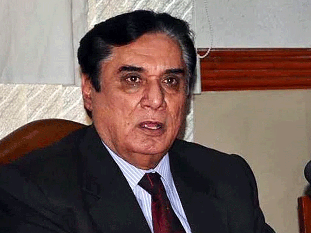 NAB Chairman Justice (retd) Javed Iqbal. PHOTO: FILE