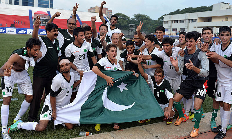 URGENT REQUEST: Football in Pakistan has become a joke; a source of both anger and rueful comedy. It is time to change that. PHOTO: AFP