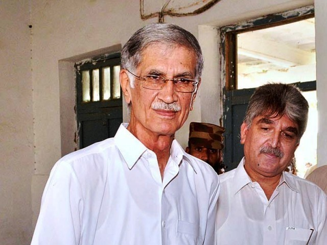 Former Khyber Pakhtunkhwa Chief Minister, Pervez Khattak. PHOTO:FILE
