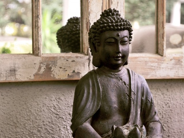 Lost Buddha statue found in London. PHOTO: FILE